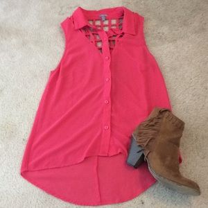 Pink Charlotte Russe Tank!